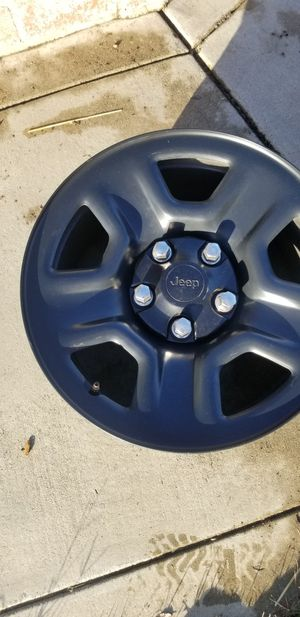 Steel wheels for jeep WRANGLER for Sale in Montclair, CA