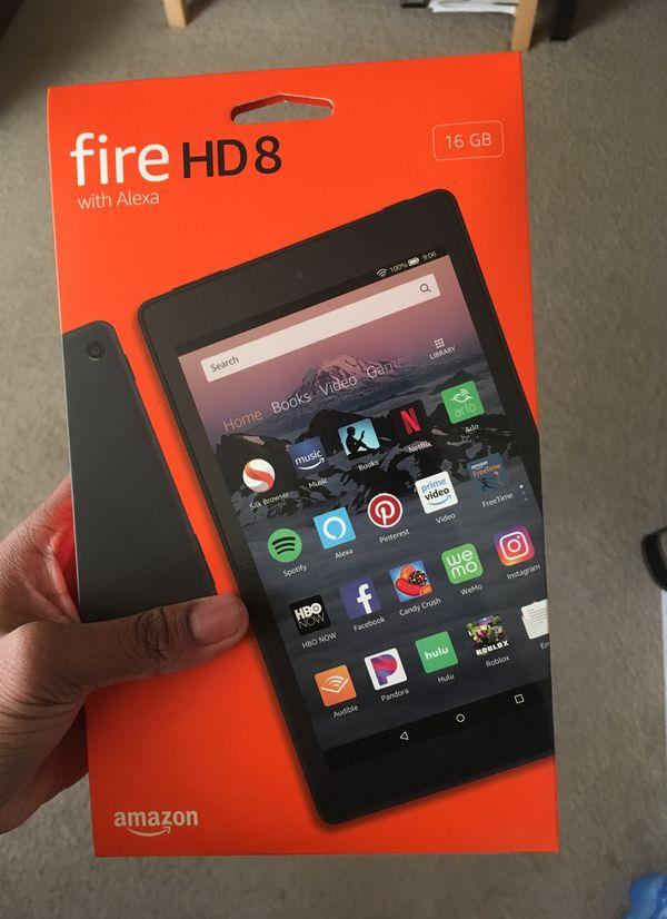 Amazon Fire HD 8 Tablet