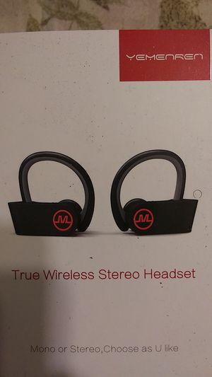 Yemenren True Wireless Stereo Headset for Sale in Cypress, CA