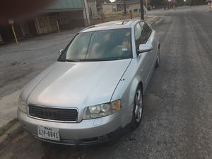 2002 audi a4 3.0 just rbebuilt motor last year installed a new transmission no titlve has new tires 1300 trade for Sale in San Antonio, TX
