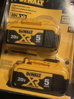 Dewalt 20v 5AH for Sale in Washington,  DC