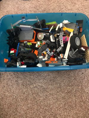 2 boxes of random legos for Sale in Coats, NC