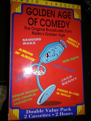 Golden Age of Comedy Cassettes for Sale in Sioux Falls, SD