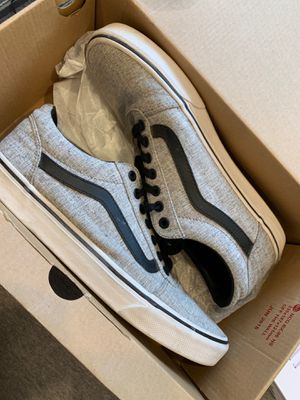 Vans Gray and Black Color Size 10 Men for Sale in Fremont, CA