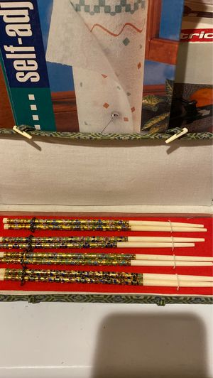 4 sets of chopsticks for Sale in Rockville, MD