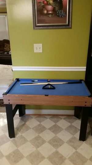 Pool table and air hockey for Sale in Woodruff, SC