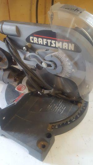 Craftman 8 in miter saw for Sale in Mifflinburg, PA