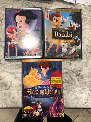 3 Disney movies for Sale in Phoenix, AZ