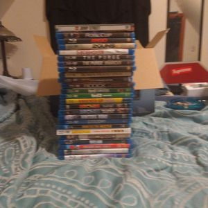 Bundle Of Blu-ray/Dvd Movies Like New for Sale in Lowell, MA