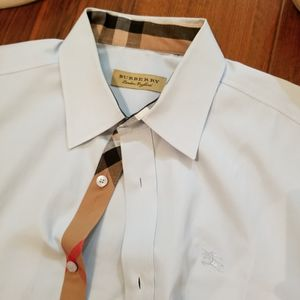 Blue Burberry Shirt for Sale in Houston, TX