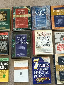 Business and Financial Books, all classics, lot of 12, new condition for Sale in Lansdale,  PA