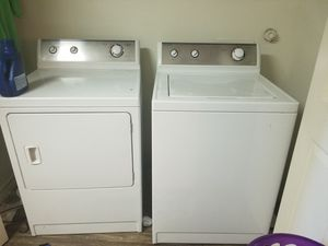 Admiral washer and dryer for Sale in Austin, TX