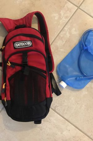 Outdoor camping hiking water hydration backpack camel for Sale in Pompano Beach, FL