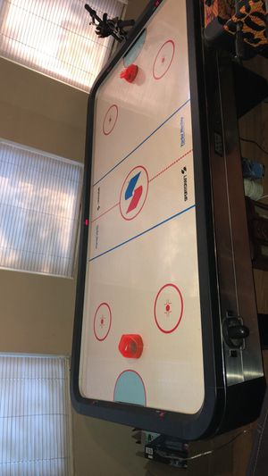 Arcade air hockey table and foosball table everything works!!! for Sale in Collinsville, IL