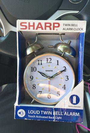 Brand New Twin Bell Alarm Clock for Sale in Virginia Beach, VA
