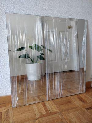 Frameless Square Mirror for Sale in San Francisco, CA