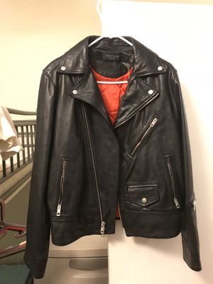 Rag and bone leather jacket brand new for Sale in Boston, MA