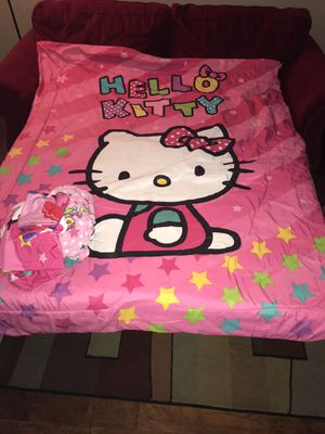 Twin bedding Hello Kitty for Sale in Valrico, FL
