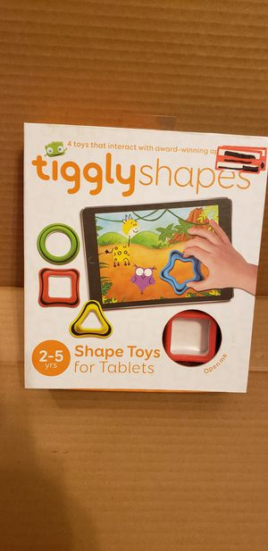 Tiggly Shapes – Educational Toys for Tablets for Sale in Washington, DC