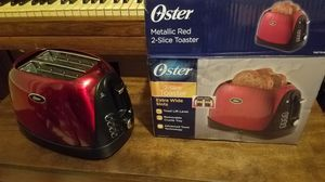 New Oster Retro vintage red toaster counter microwave cooker convection oven. Tons of other things for sale look in my profile. for Sale in Jacksonville, FL