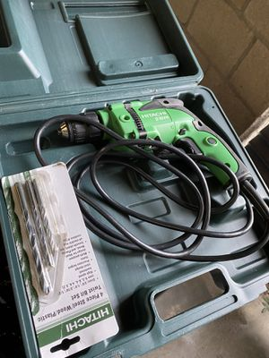 Like new hitachi corded drill for Sale in Long Beach, CA