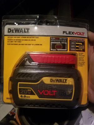 DeWalt Flex batteries 60v for Sale in Kolin, LA