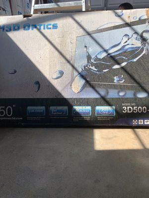 Projector tv screen 50 inches for Sale in Los Angeles, CA