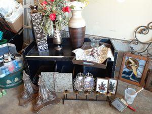Decorative Shelves, Wall Handings, Large Floor Vases, Candle Holders, etc for Sale in Bealeton, VA
