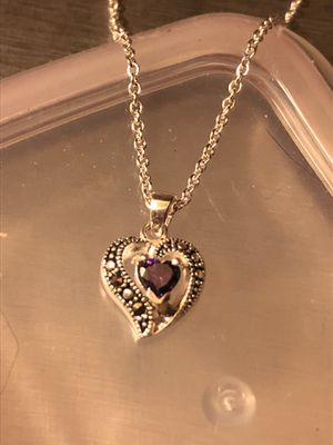 .925 heart necklace for Sale in Traverse City, MI