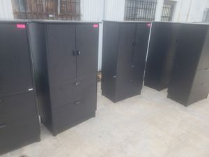 used STORAGE COMBO CABINETS AVAILABLE..EACH for Sale in Houston, TX