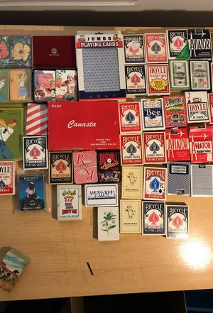 50 decks of assorted cards. for Sale in Windsor, ON