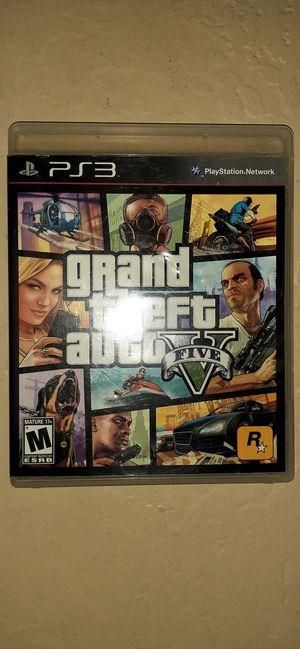 PS3 GTA5 for Sale in Buckeye, AZ