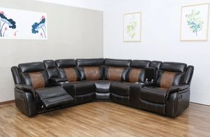Memphis Brown sectional for Sale in Lexington, NC