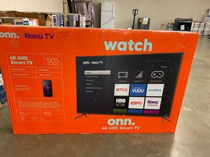 "Brand new ROKU ONN TV 50"" inch! Open box w/warranty 7 6DG for Sale in Anaheim, CA"