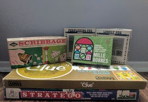 Bundle of vintage board games for Sale in San Antonio, TX