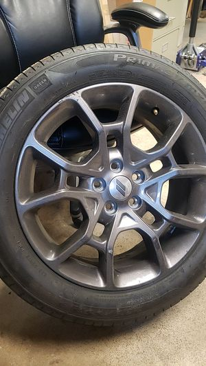 Dodge 19 inch rim and tire for Sale in Bethesda, MD