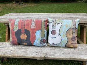 Pillows for the Guitar 🎸 Lover for Sale in Maple Valley, WA