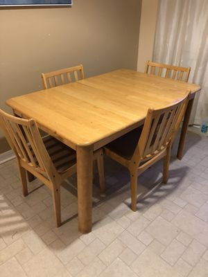 Dining room set with attached insert for Sale in Windermere, FL
