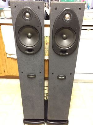 Polk Audio speakers 🔊 $80 for Sale in CARPENTERSVLE, IL