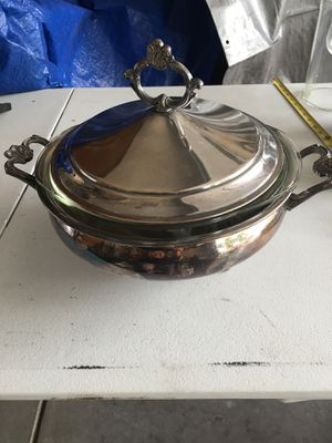 Silver Plate Serving Dish for Sale in Las Vegas, NV