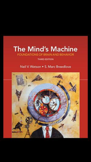 The Mind's Machine 3e by Watson and Breedlove. ISBN- 9781605357300. for Sale in Plano, TX