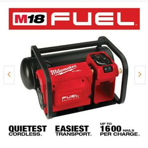 Milwaukee fuel M18 Air Compressor for Sale in Tacoma, WA