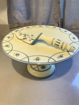 Antique Kitchen Cake Stand and Slicer for Sale in Los Angeles, CA