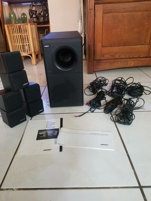 Bose Cube Speakers & Bass / Home theater surround system for Sale in Los Angeles, CA