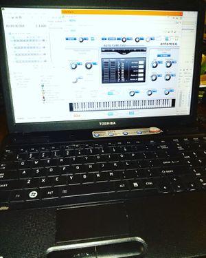 Toshiba Satellite Music & Video Editing, Recording Studio Laptop for Sale in San Antonio, TX