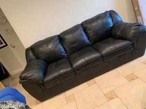Black couch for Sale in Palo Alto, CA