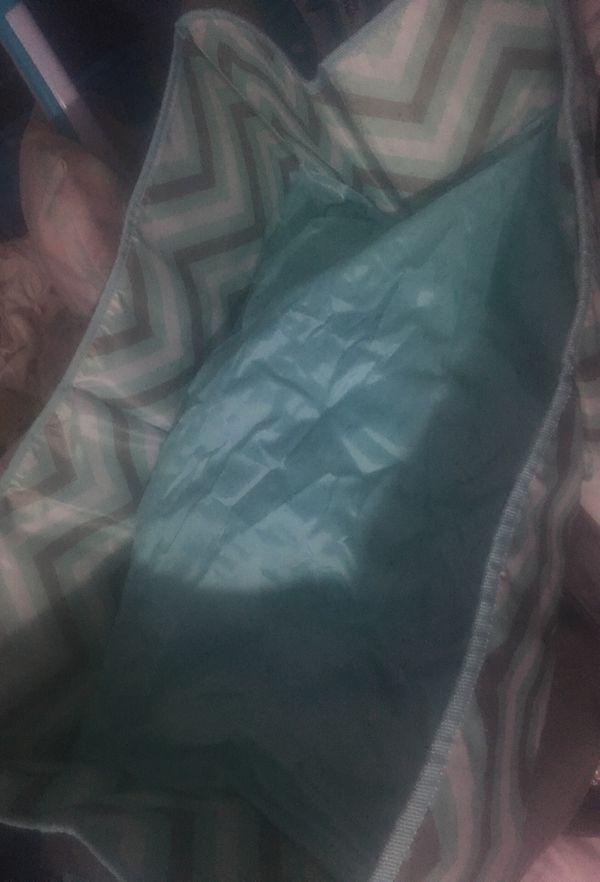 Baby diaper bag sleeping crib