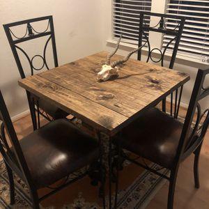 Wood Breakfast Table for Sale in Austin, TX