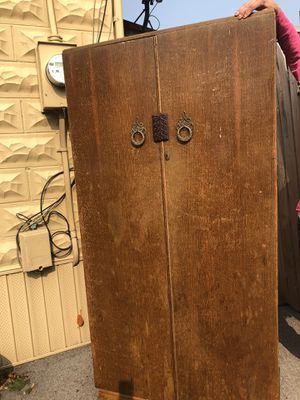 Closet with shelves on one side for Sale in Hughesville, PA