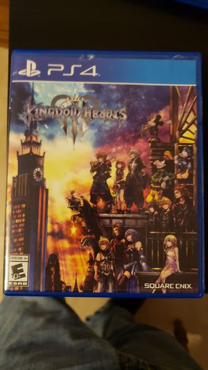Kingdom Hearts 3 for PS4 for Sale in West Orange, TX